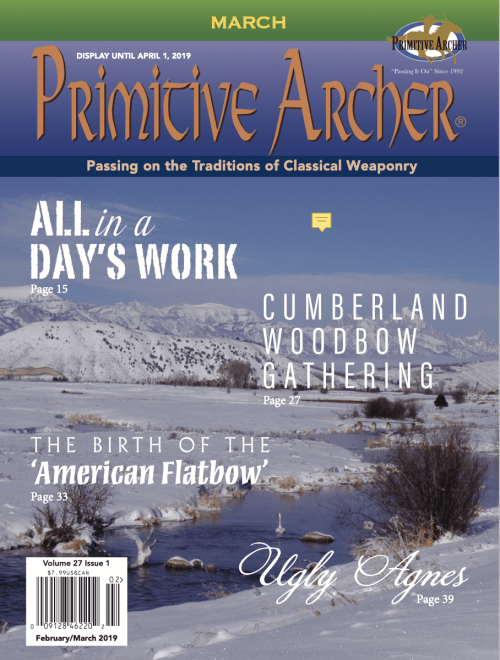 Cover of Primitive Archer Magazine 27.1