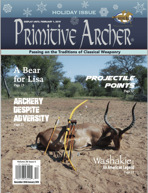 Cover of Primitive Archer Magazine 26.6