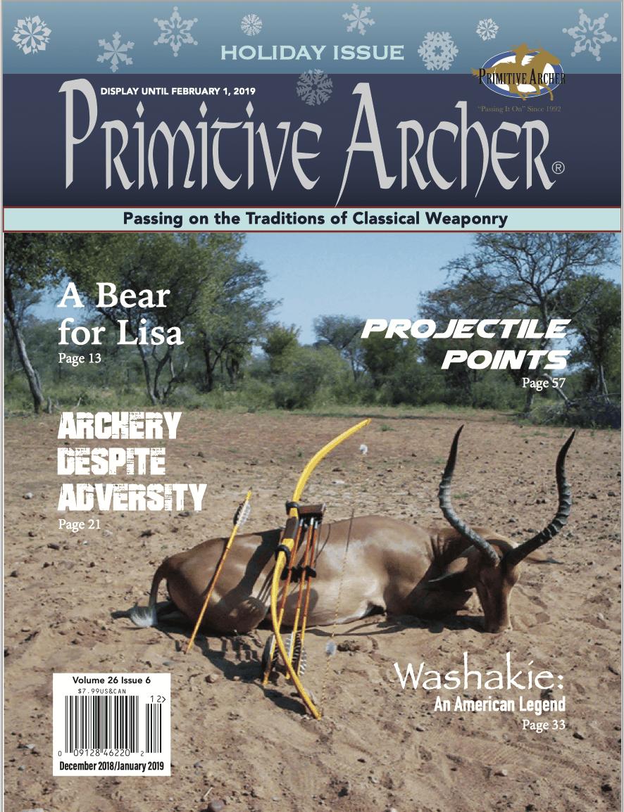 Cover of Primitive Archer Magazine 26.6