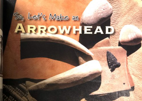 Arrowhead Making Bundle