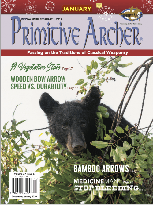 Primitive Archer Magazine Volume 27 Issue 6